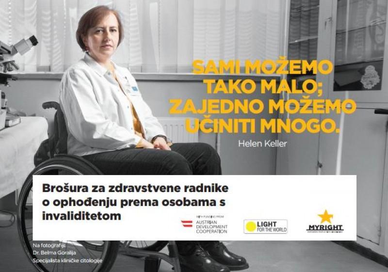 Brosura za zdravstvene radnike o ophodjenju prema osobama s invaliditetom