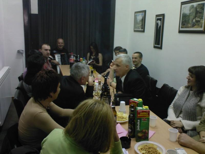 Druzenje u prostorijama UDKS 2007. godine