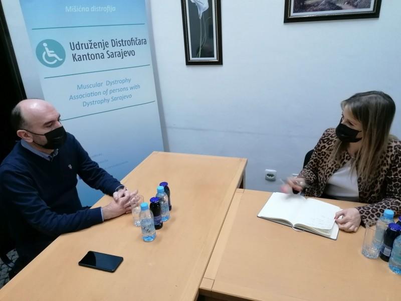 Posjeta Ministrice za rad, socijalnu politiku, raseljena lica i izbjeglice KS