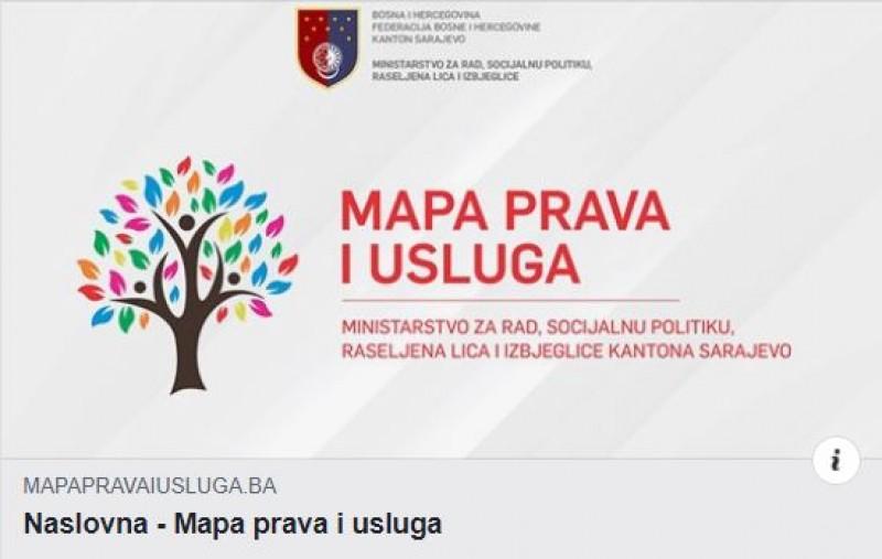 Mapa prava i usluga